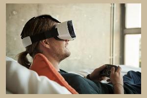 VR Gear Samsung Headset