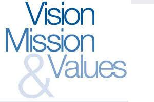 overhead rates | mission vision and value statements
