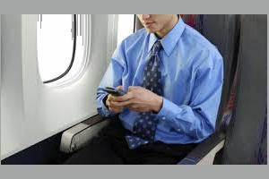 smartphone use on airplanes