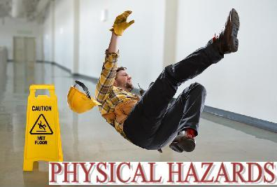 examples of physical hazards