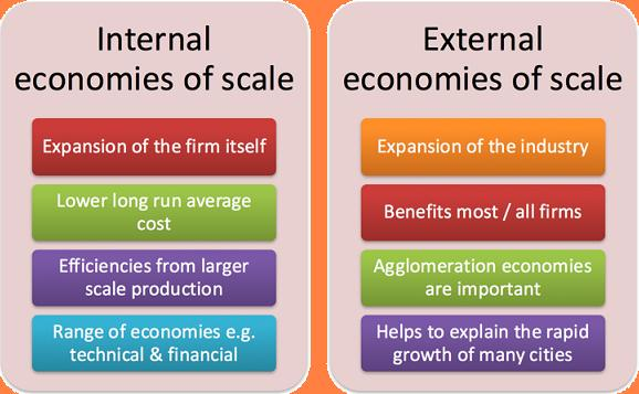 Photo of Types Of External Economies Of Scale Of Production