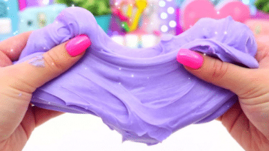 How to Make Slime at Home - Step by Step